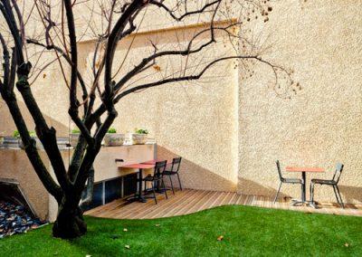 jardin hotel le lumiere
